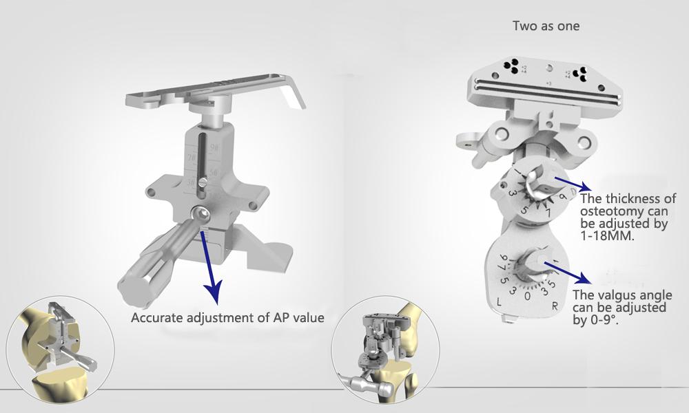 Measurement of femoral AP