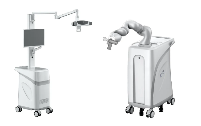 EPS surgical robot makes a gorgeous appearance